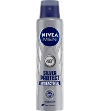 Nivea Silver Protect Dynamic Power Spray Parfum - 150 ml  (For Men)