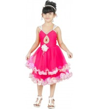 FTC Bazar Layered For Girls  (Pink)
