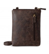 Baggit Women Casual Brown Leatherette Sling Bag