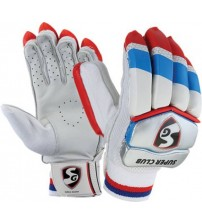 SG Super Club Batting Gloves (Youth, Multicolor)