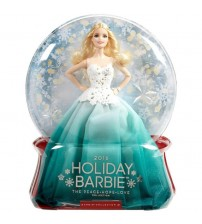 Barbie Holiday Doll DGX98  (Multicolor)