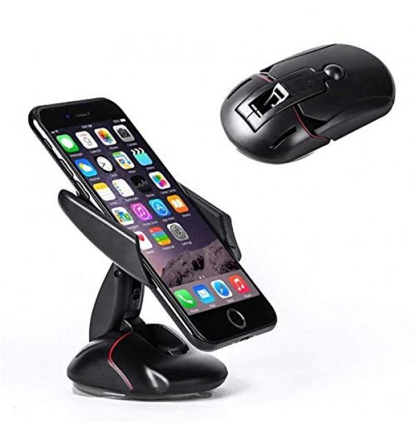 Renyke Car Vehicle Mobile Phone GPS Dashboard Holder Mount Stand Mouse Shape