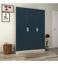 Godrej Interio Slimline 3 WL Metal Almirah  (Finish Color - Pacific Blue)
